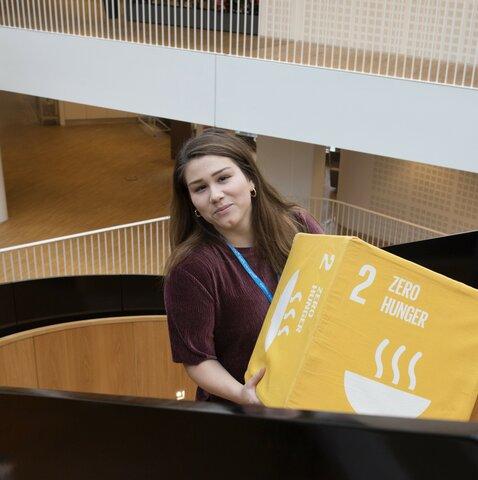 Tapaa WFP:n Pohjoismaiden toimiston uudet harjoittelijat