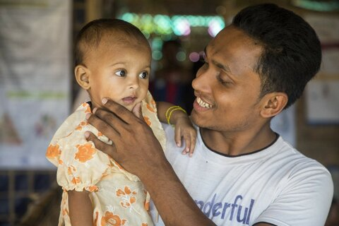 KUVAREPORTAASI: Isät edelläkävijöinä taistelussa virheravitsemusta vastaan