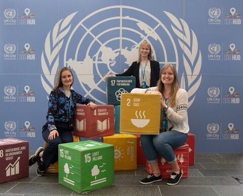 Katsaus World Food Programmen harjoittelijan työpäivään