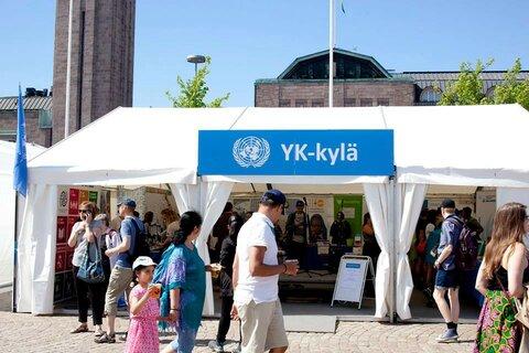World Food Programme Maailma kylässä -festivaaleilla: kestävä kehitys riippuu yhteistyöstä