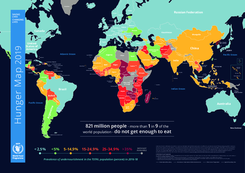 Hunger Map 2019