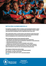 WFP:n opas Suomen medioille