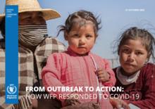 Puhkeamisesta toimintaan: Miten WFP vastasi COVID-19-pandemiaan