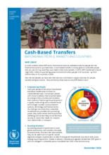 WFP Käteissiirrot - Vahvistavat ihmisiä, markkinoita ja hallituksia - 2020